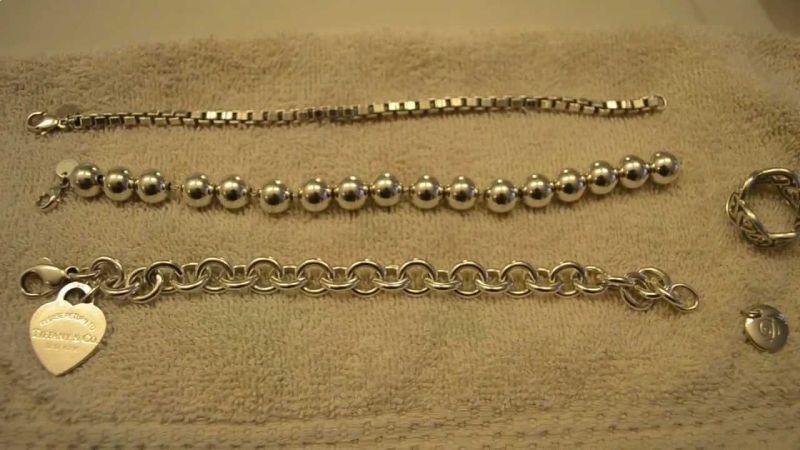 metode de curatare a bijuteriilor din argint